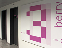 Signaletik System Swisscom IT Services AG, Zürich