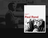 Paul Rand | Interaction