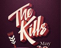 Gig Poster // The Kills