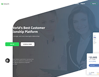 RESOLUTE CUSTOMER RELATIONSHIP LANDING PAGE