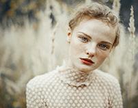 Portraits of Aleksandra.