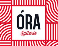 ÓRA Laiterie - Image de marque