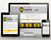 The 3 Monkeys responsive website
