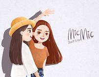 俩个人-MicMic
