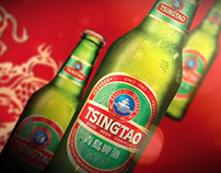 Product Shot - Tsingtao