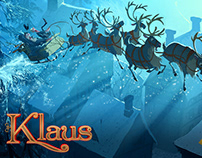Klaus - pitchbook illustrations
