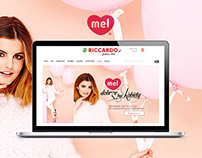 Mel - internet campaign for the e-store Riccardo.pl