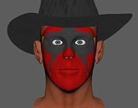 3D Facial Model - Maya
