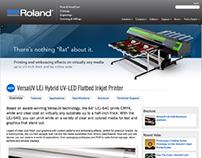Roland DGA Website