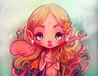 """Octopus Tangles"" - Illustration"
