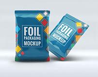 Foil Packaging Mock-Up