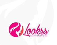Beauty Salon & Spa Girl Fashion Logo Free