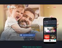 Liedjie · Web + App