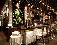 VOLARE / Diseño restaurante