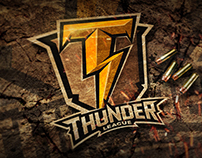 """War Thunder League"" World Online Tournament Logo"