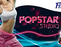 Nestle Fitness, Popstar Studio