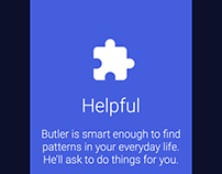 Butler AI - Onboarding Screens