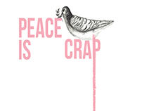Peace is Crap - Equality Poster