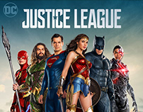 Justice League (Blu-ray Cover)