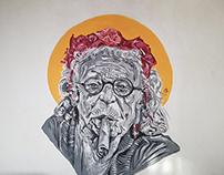 Rebellious Phase - Mural (MNE, 2018)