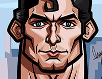 The Supeman, Christopher Reeve Caricature