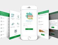 Merchant app UI