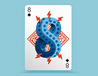 Playing Arts - 8 of Spades ♠
