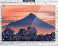 Osorno Vulcano Chile Wall Prints