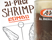 A&W Restaurants Spring 2015 Sales Event