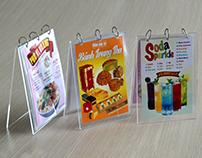Menu & Brochure Vi Hoang Restaurant
