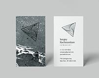 Rachmaninov. Business Card Template