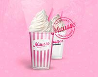 Muusse Milkshakes® Branding