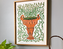 Terracotta Cactus