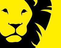 IRON LEO   logo design & Business cards