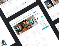 Service for searching rental housing / UX, UI design