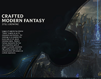 League of Legends Visual Design Style Guide 2012
