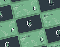 Free Cosmetics Brand Business Card Design