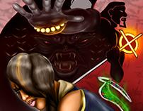 ARMAGEDDON Concept Comic Cover
