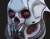 3D scifi helmet - PBR