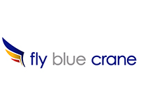 fly blue crane CI