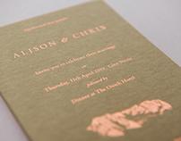 Glen Nevis — Wedding Invite