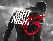 Fight Night 13 visual identity