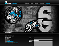 SOUPGRAPHIX WEBSITE DESIGN