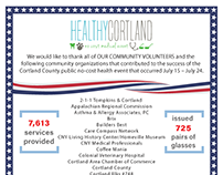 Healthy Cortland/Innovative Readiness Training (IRT)