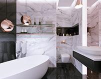 Batrhroom Design & 3d Visual