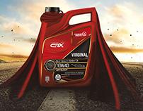 CRX Lubricants پروژه روغن موتورهای سی آر ایکس