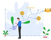 QDC website illustrations