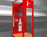 Propuesta Activación Ducha Karaoke Coca Cola FM / FIRE