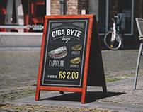 Chalkboard (quadro) - Restaurante Açaí e Tapioca