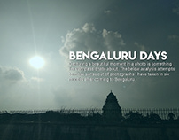 Bengaluru days - Personal Data Visualization
